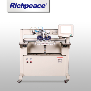 High-quality Hotfixed Rhinestone Richpeace Computerized Embroidery Machine