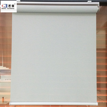 Children Safe Cordless Window Fashions Polyester Sunscreen And Blackout Privacy Protect Spring Roller Blinds Parts Buy Spring System Roller Blinds