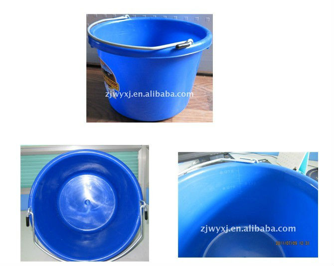 small plastic bucket,water barrel with handle,new products,made in China