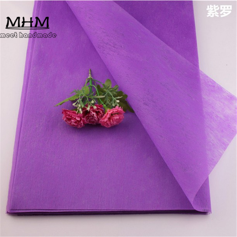 Us 6 99 30 Off Tissue Paper Wrapping Fiber Texture Floral Wraps Diy Flower Wrapping Paper 35pc Lot Xmas Tissue Wrapping Gift Paper In Craft Paper