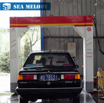 Automatic Touchless No Contact Car Wash Machine