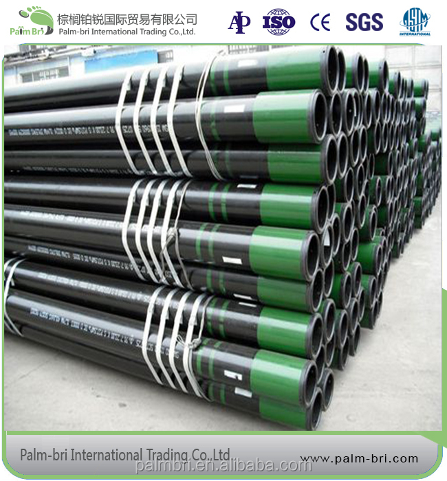 API SPEC 5CT standard steel oil pipe seamless applied for petroleum industry in low price 6 inch