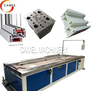 Fully Automatic pvc window and door profile making machine/plastic extruder machine