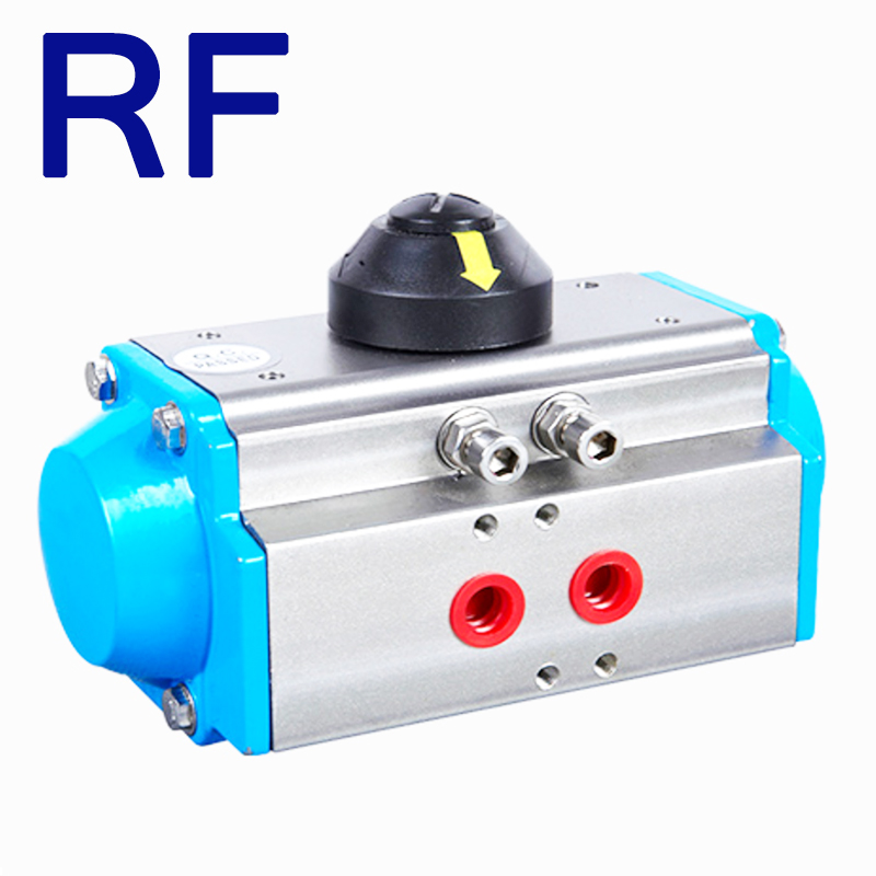RF ACT-115D Double Acting Aluminum Alloy Material for Ball <strong>Valve</strong> and Butterfly <strong>Valve</strong> Pneumatic Actuator
