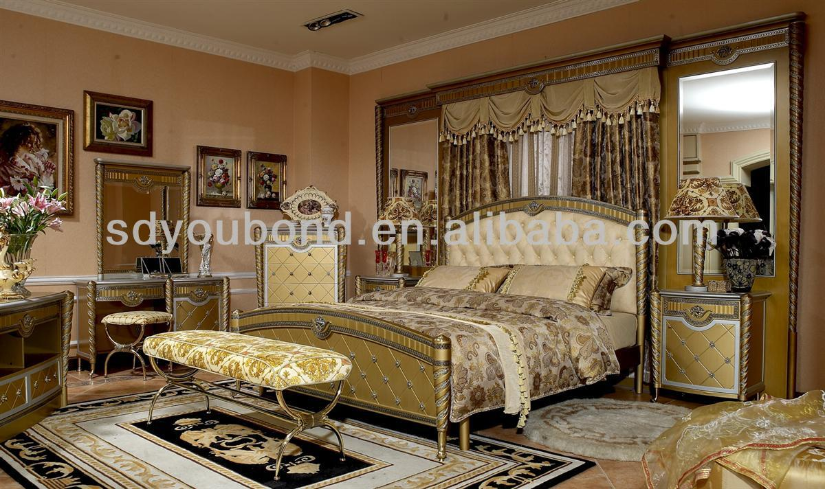 0016 Italy New Model Wood Home Furniture Gold Leaf Modern Classic Bedroom  Set Furniture - Buy Modern Classic Bedroom Set Furniture,Gold Leaf Modern  ...