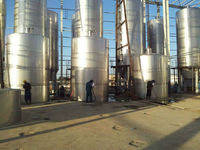 ss conical wine fermentation tank with insulation layer