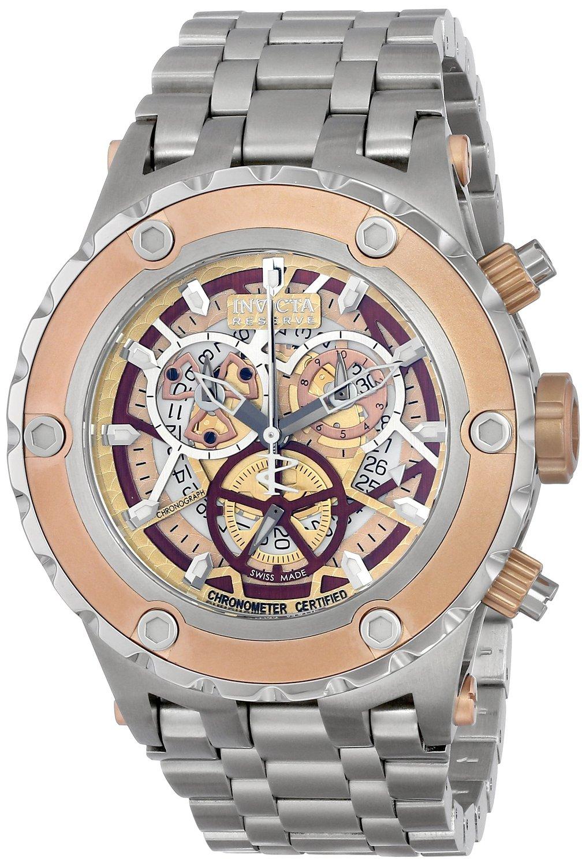 Invicta Men's 13740 Subaqua Analog Display Swiss Quartz Silver Watch