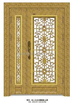 Elegant main entrance door design for house hl 9129 buy for Elegant main door designs