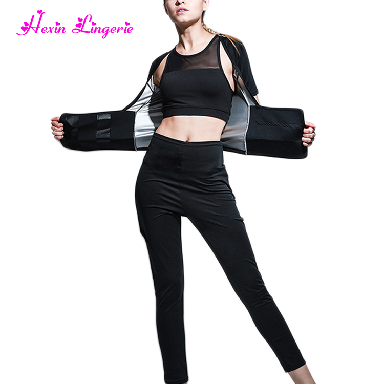 2018 Amazon Best Selling Fitness Clothes Body Shaper Slimming Women Sweat Suit