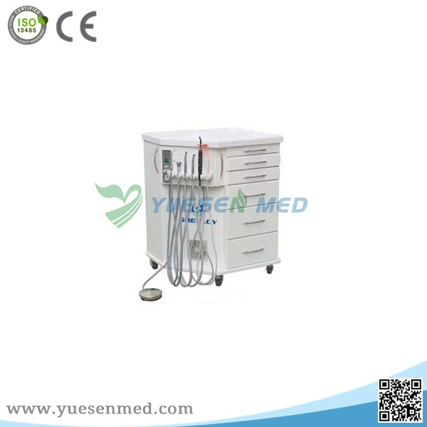 YSDEN-212 Mobile Dental Cabinet Unit/Dental Delivery Cabinet with air compressor