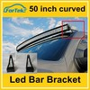50inch curve led light bar mounting bracket roof mount