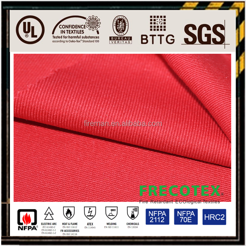 Nomex woven meta aramid viscose plain fabric for protective FR clothing