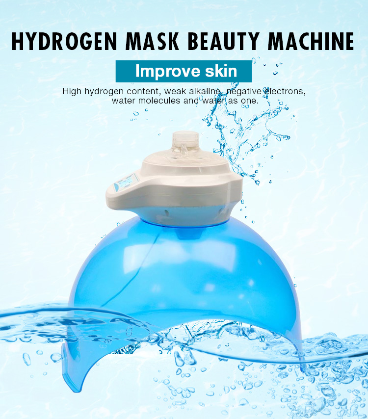 Hydrogen Water Machine PDT face mask led pdt bio-light therapy pdt led light therapy machine