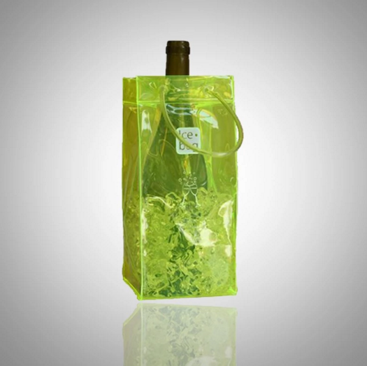 Wholesale High Quality Plastic PVC Ice Bag for wine