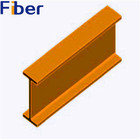 Pultruded Fiberglass FRP I Beam for construction