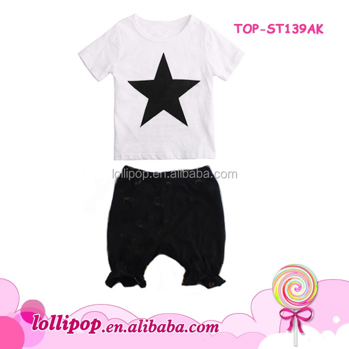 Baby Boy Baptism Outfit Photos Kids Smocked 4th of July Star Tshirt Falbala Shorts Clothes Clothing Summer Boutique Outfit