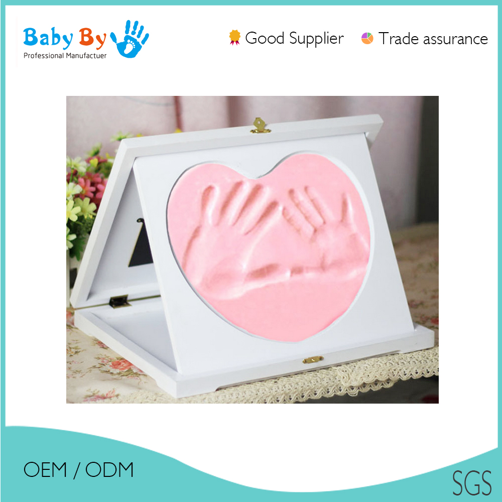 High quality baby handprint kit in picture wall frame