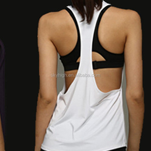 Breathable Women Gym Tank Tops Vest Sportswear Running Fitness Wear