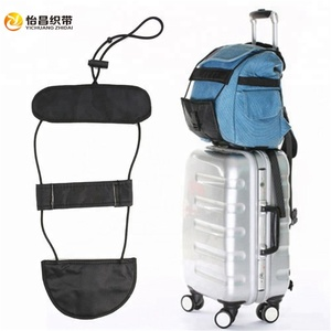Black Bundle Band Durable Travel Luggage Bag Suitcase Belt Backpack Carrier Strap Carry New Casual Bag Accessories