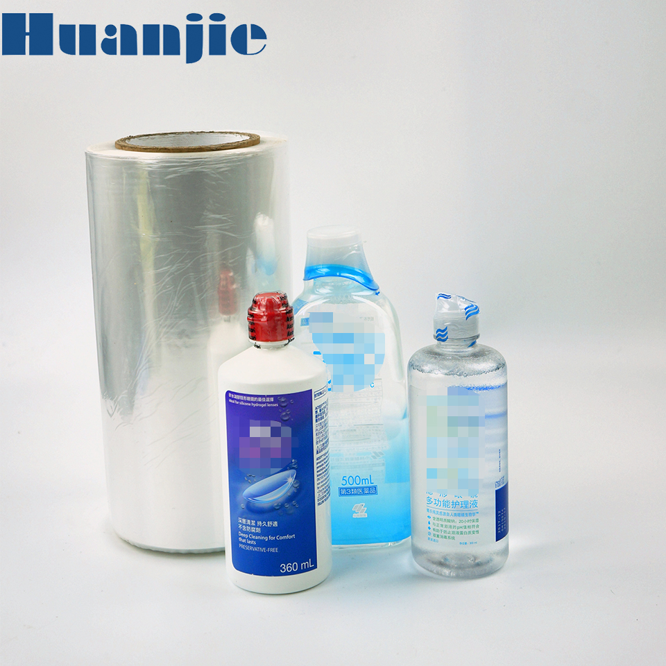Macro Perforated Oem Offering Pof Transparent Shrink Film