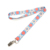 Cheap sublimation of the national style of custom light colors lanyard