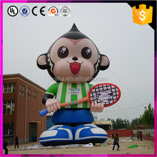 high quality live design giant inflatable monkey for party decor