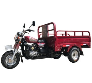 Chinese factory moped nigeria gasoline van peru lifan 200cc motorized cargo tricycle