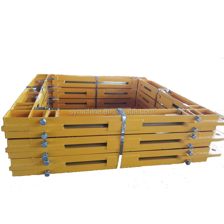 Tower Crane Tie Collar in Tower Crane Anchoring Frame