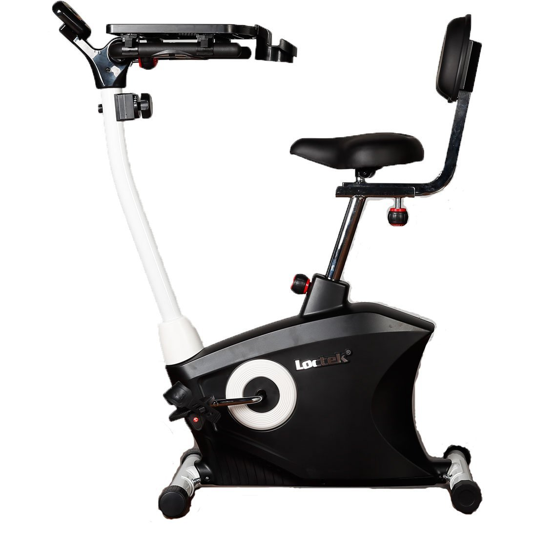 631724486be Get Quotations · Loctek Exercise bike Desk bike Office Cardio Indoor  Stationary Workstation Cycling with Laptop Upright bike
