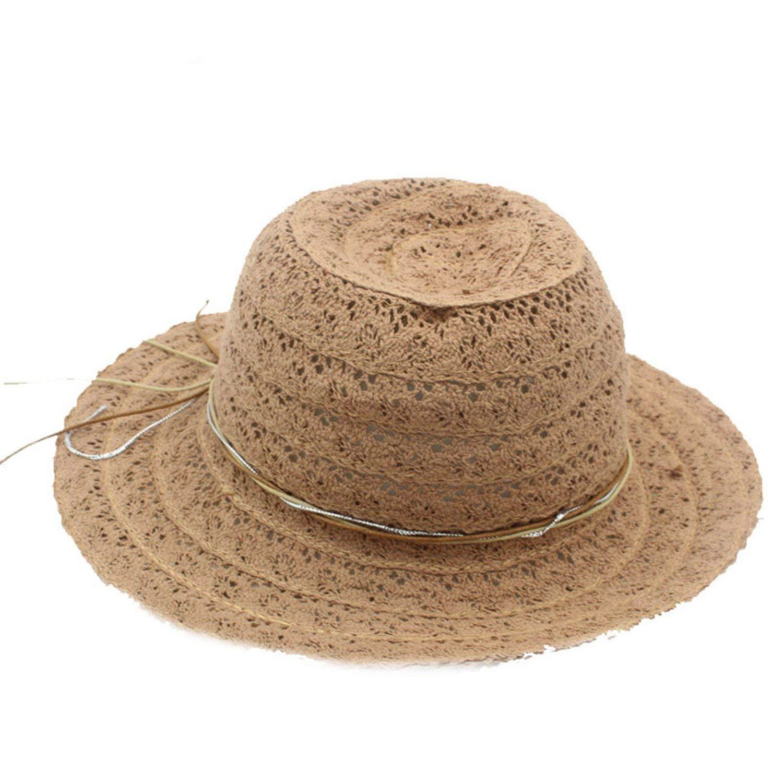 Get Quotations · Sun Hats Summer Hats for Women Summer Fashion Floppy  Sombrero Hats for Women Summer Hat b55f754b407e