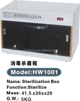 High quality sterilization box beauty salon sterilizer for for 3 methods of sterilization in the salon