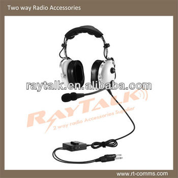 b8f25be9591 Aviation headsets for airplanes with Super Soft Double Foam Head Pad similar  to David Clark