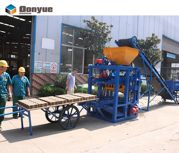 low price brick making machine concrete hollow block machine for sale in africa