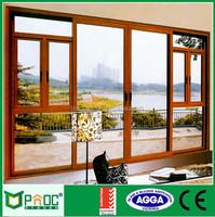 Thermal Break Aluminium Casement Door Can Open Two Side