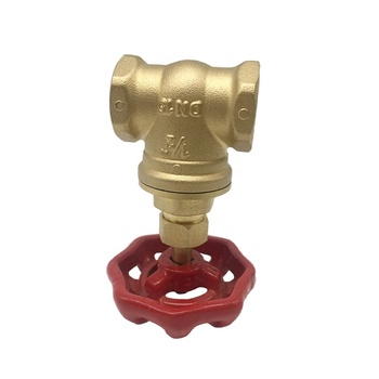 Top quality factory sale forged brass kitz gate valve