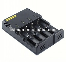 Nitecore I4 Intellicharge Most of Li-Ion Ni-Cd Ni-MH 4-Channel Smart Battery Charger/i4 charger/sysmax i4/intellicharger i4