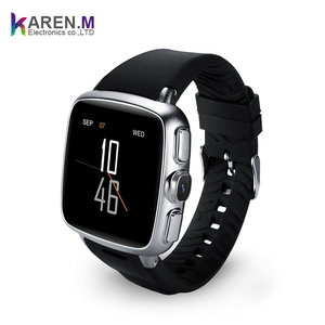 2019 New 512MB+4GB MTK6572 dual core 1.3Ghz 3G android smartwatch GPS smart watch wifi with Camera 5.0MP