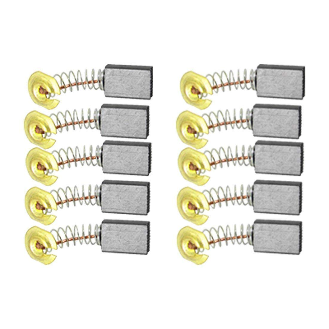 Brushes & Dusters uxcell50 Pcs Carbon Electric Motor Brushes 16mm x 11mm x 7mm For Bosch Drill
