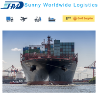 China shipping logistics company sea freight from Shanghai to Boston USA door to door delivery service