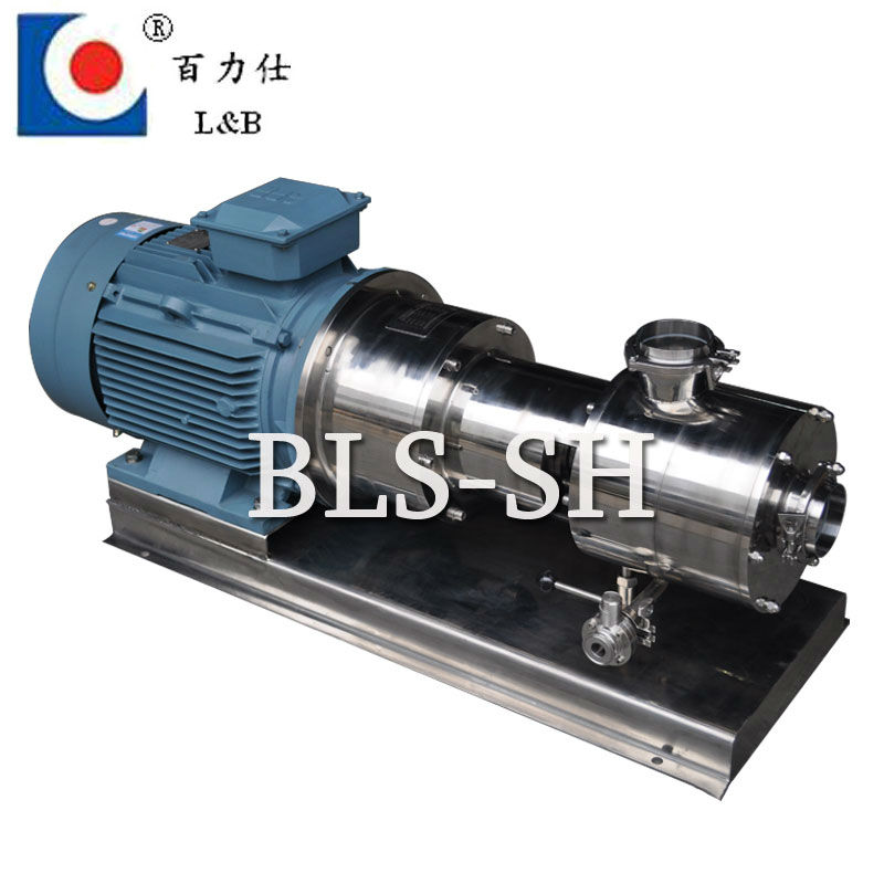 sanitary juice homogenizing mixer