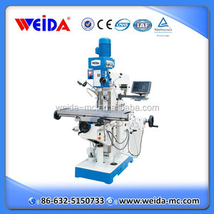 XZX6350G small drilling milling machine with sino dro for sale