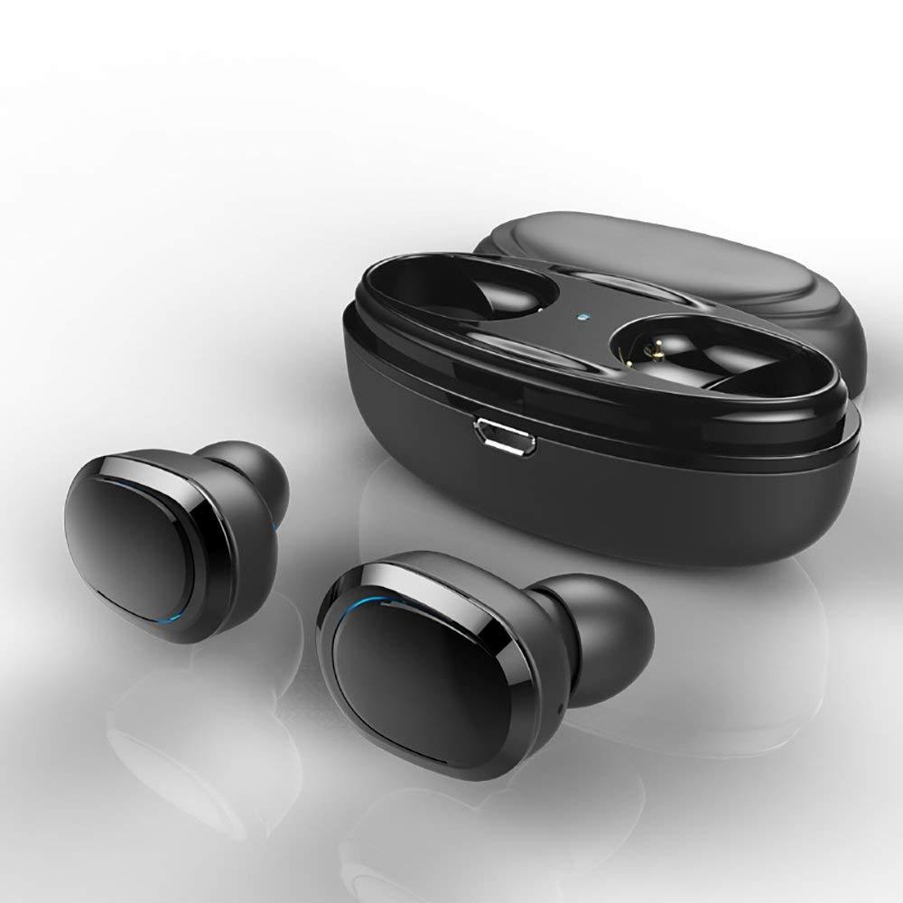 35e7541be9d Get Quotations · True Wireless Earbuds, QANGEL Mini Bluetooth Headphones  Invisible TWS Stereo In-Ear Earphones Sweatproof