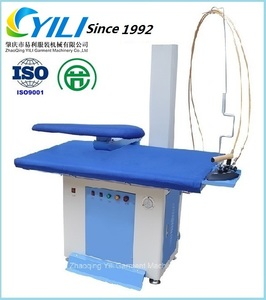 Industrial ironing machine with steam generator /laundry automatic steam ironing press machine for sale