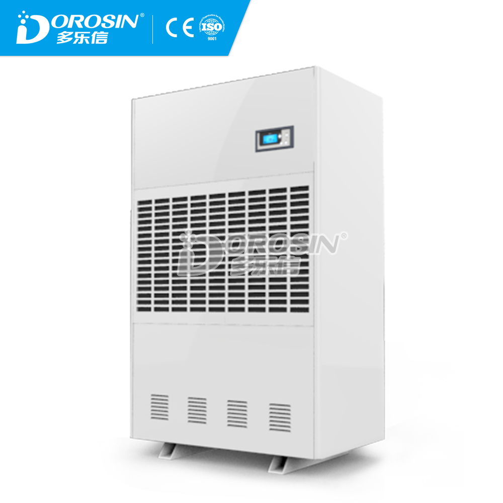 High efficiency Mobile Industrial Dehumidifier R410a drinking water /Pannasonic compressory Made in China