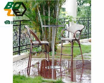 Boze alta qualità mobili da giardino di bambù sembrare alto