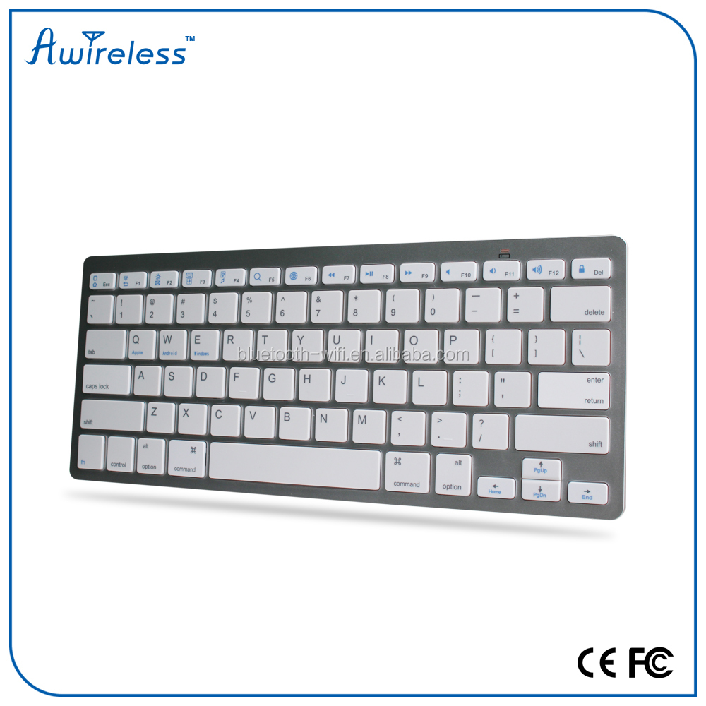 best price arabic keyboard ABS color wireless keyboard AZERTY