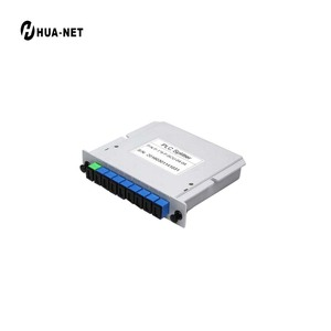 GPON PLC Splitter 1:8 SC/APC Optical Cassette Fiber Optic Splitter for FTTH