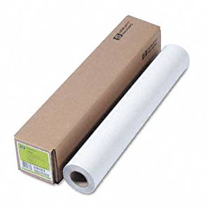 "HP : Designjet Large Format Paper for Inkjet Printers, 5mil, 24""w, 150`l, WE, Roll -:- Sold as 2 Packs of - 1 - / - Total of 2 Each"