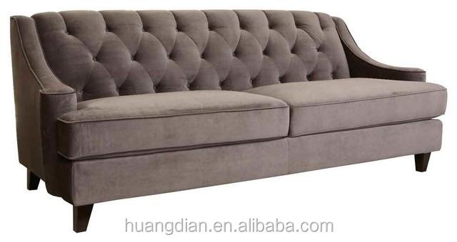 Moderne zeer goedkope meubelen grijs fluwelen stof for Really cheap sofas