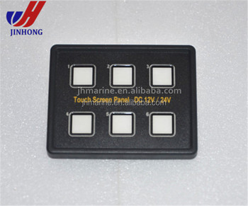 6 gang led back capacitive touch screen panel boat caravan switch 12 12 Volt Rocker Switch 6 gang led back capacitive touch screen panel boat caravan switch 12 volt